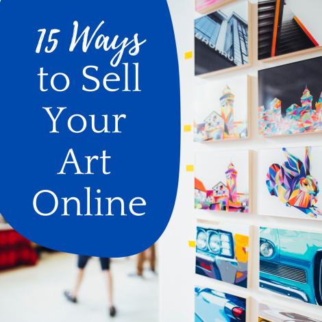 How to Sell Art Online: 15 Online Galleries & Website Builders