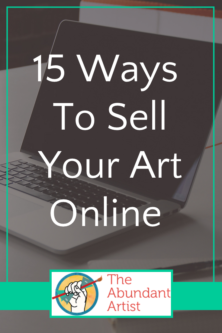 Updated 15 ways to sell your art online online for Best sites for selling art
