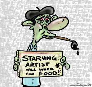 Starving Artist from Chicagoist.com