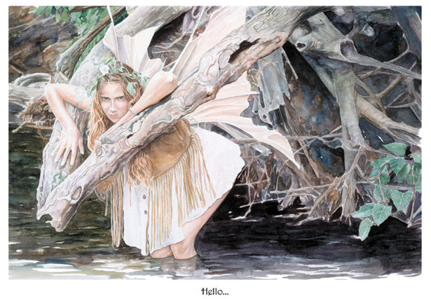 CJ Randall Fairy Portrait