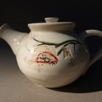 Hand Thrown Porcelain Teapot