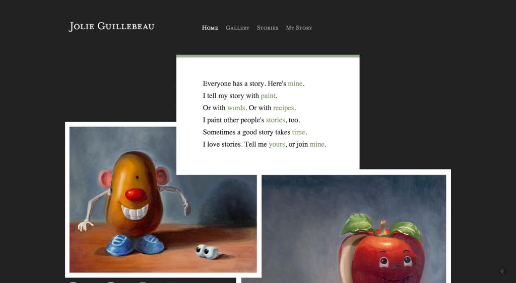 Jolie Guillebeau website