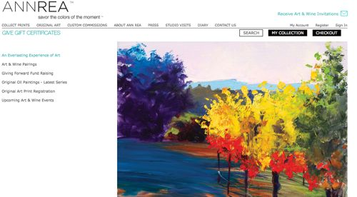 9 Great Artist Websites - Online Marketing for Artists -