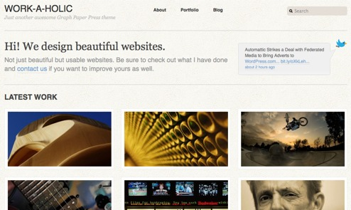 11 Gorgeous Wordpress Themes for Artist Websites - Online ...