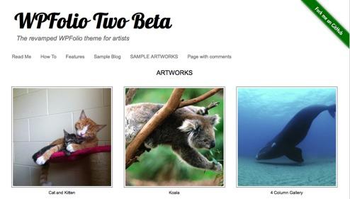 11 Gorgeous WordPress Themes for Artist Websites
