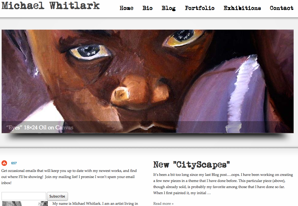 How to Make $1000 in Art Sales Per Month – Interview with Michael Whitlark