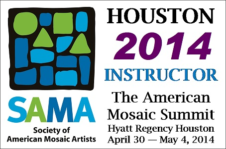 Society of American Mosaic Artists – I'm Speaking There!