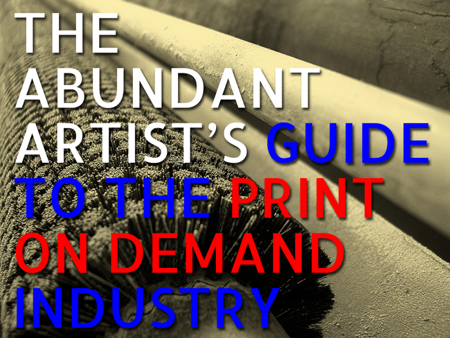 Print on Demand: A Primer for Artists - Online Marketing for