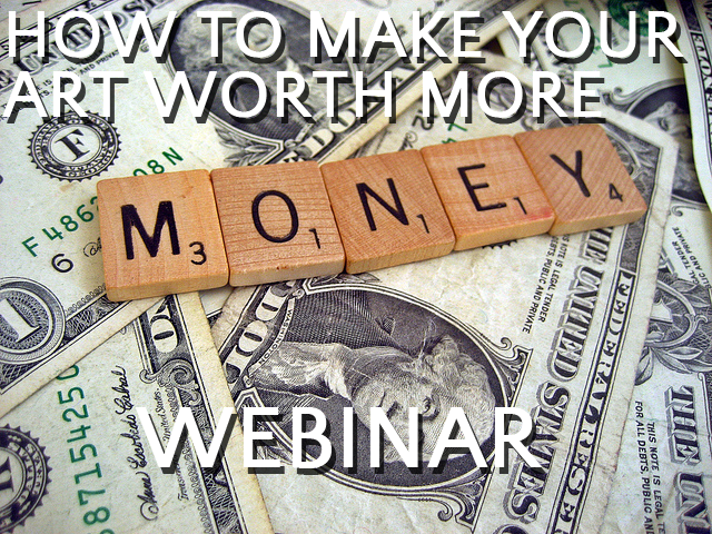 How to Raise Your Art Prices webinar replay