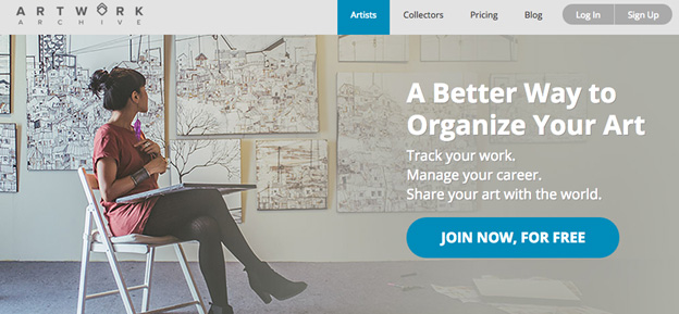 ArtworkArchive.com Review: Organize and Show Your Archives