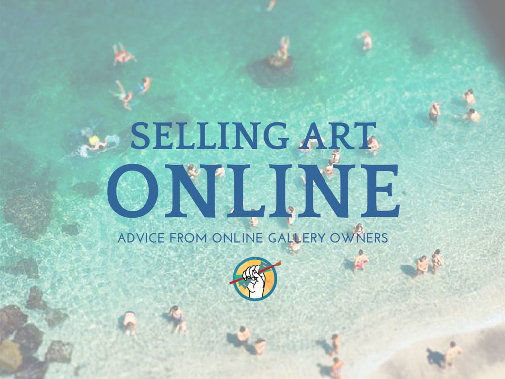 selling your art online advice from 3 online gallery leaders