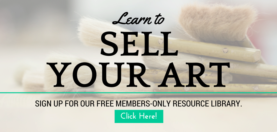 Free Content Library for Selling Art Online