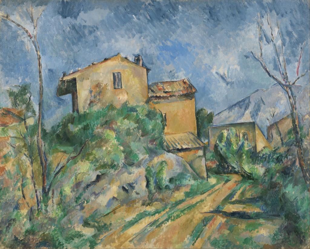 Paul_Cézanne_-_Maison_Maria_with_a_View_of_Château_Noir_-_Google_Art_Project