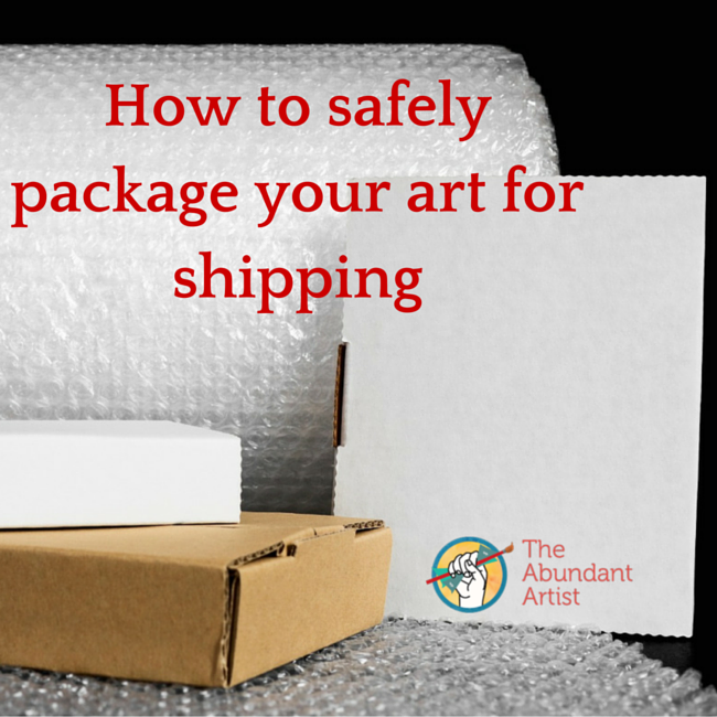 How to Safely Package Your Art for Shipping