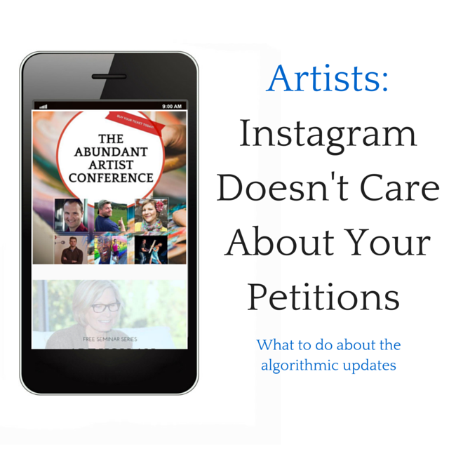 Artists: Instagram doesn't care about your Change.org petition