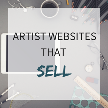 Artist website builder best websites for artists for Best sites for selling art