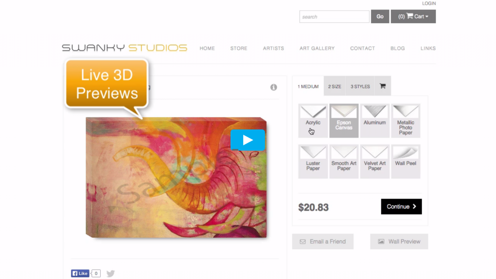 ArtStoreFronts com Review: A Done for You Print on Demand Service