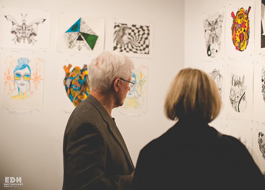 Guest At Kenal Louis Solo Exhibition