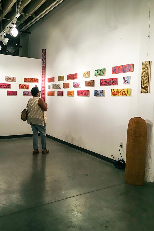 Patty Art Show Shot2