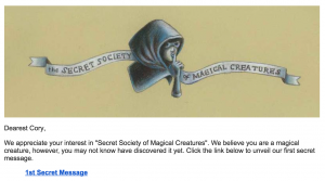 magical creatures email 1