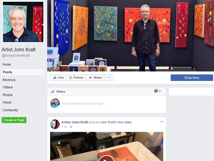 John kraft facebook page