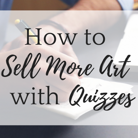 How to Sell More Art with Quizzes