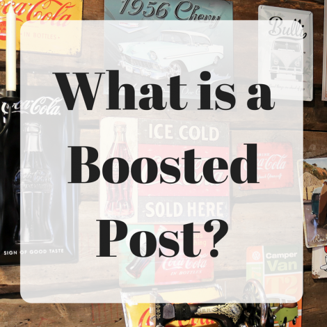 What is a Boosted Post?