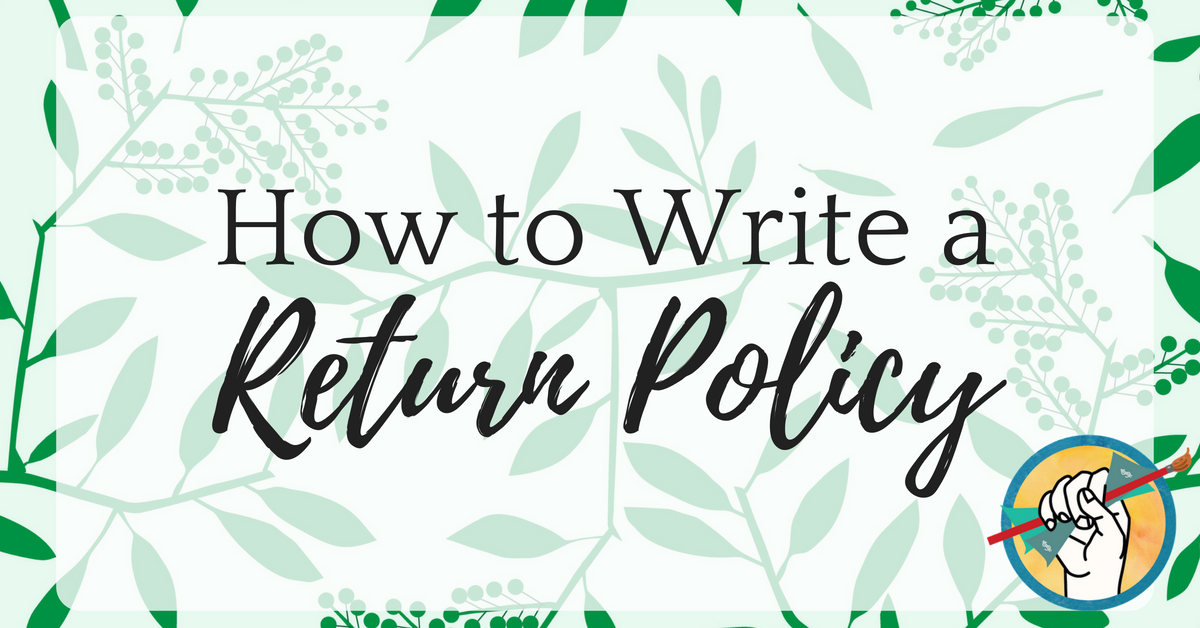 How to Write a Return Policy