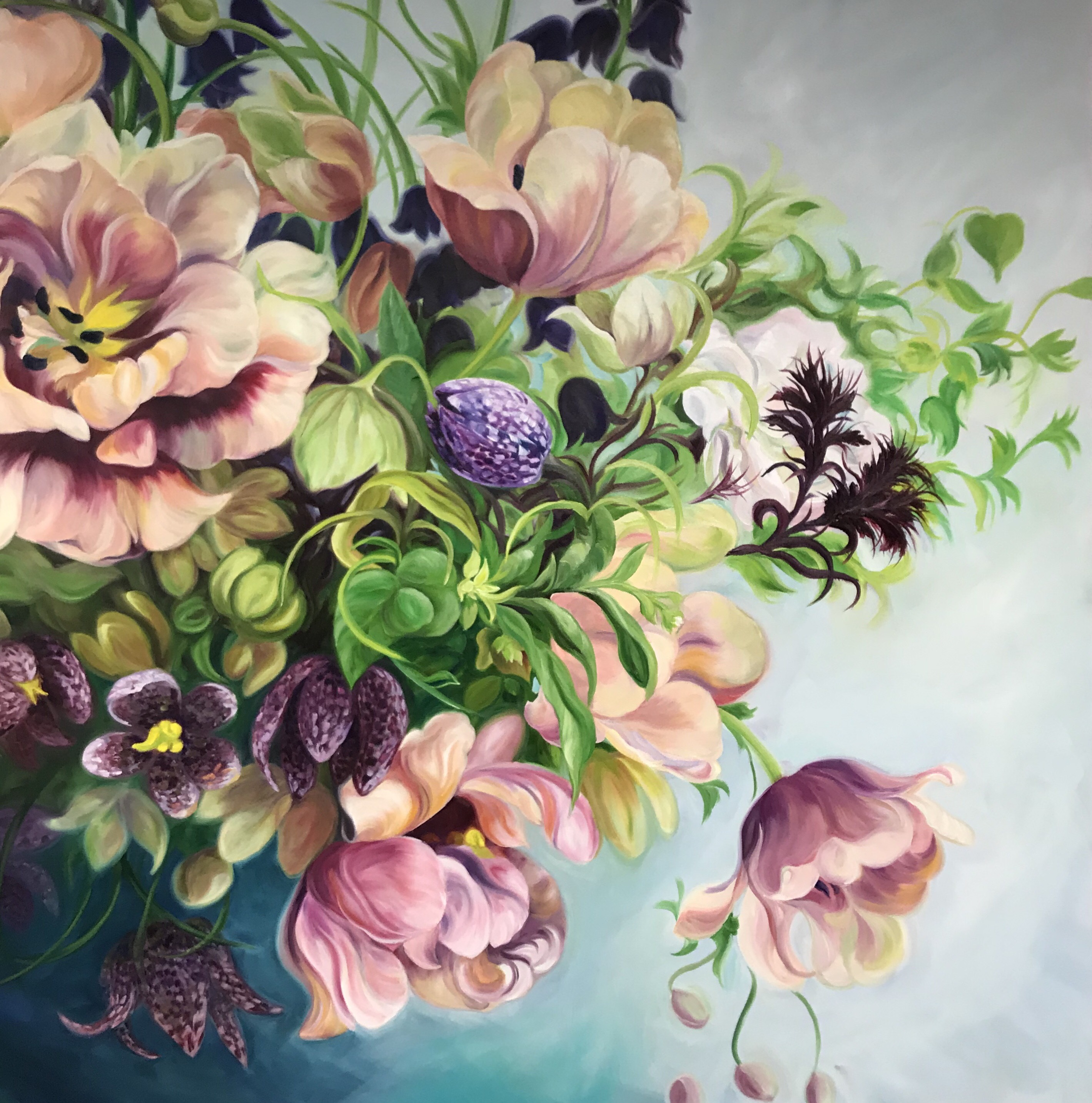 Case Study Flower Painter Anita Nowinska On Leveraging