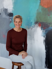 Abstract Artist Betty Krause- Connecting With Collectors on Social Media