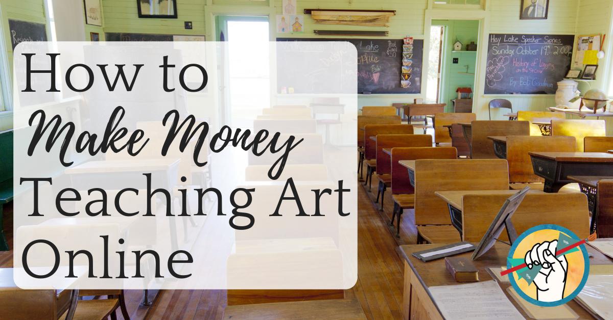 How to make money teaching art online