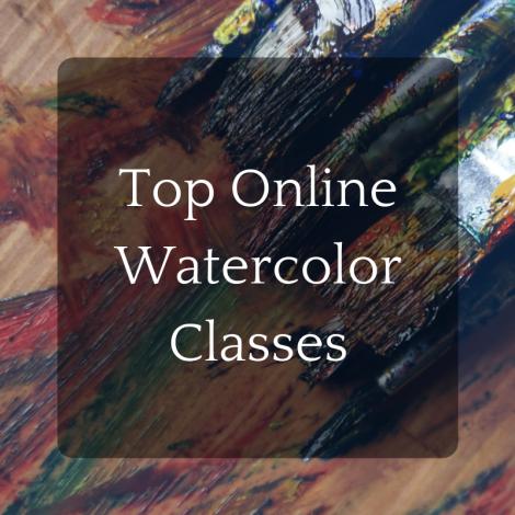 Top 5 Online Watercolor Classes