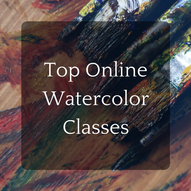 Top 5 Online Watercolor Classes Online Marketing For Artists