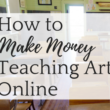 How to Make Money Teaching Art Online
