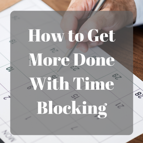 How Artists Can Get More Done with Time Blocking