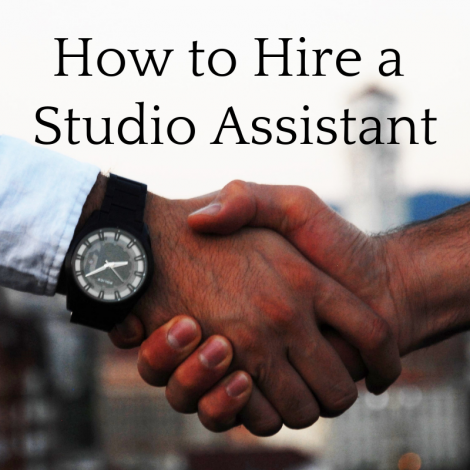 Is it Time to Hire a Studio Assistant? Here's How