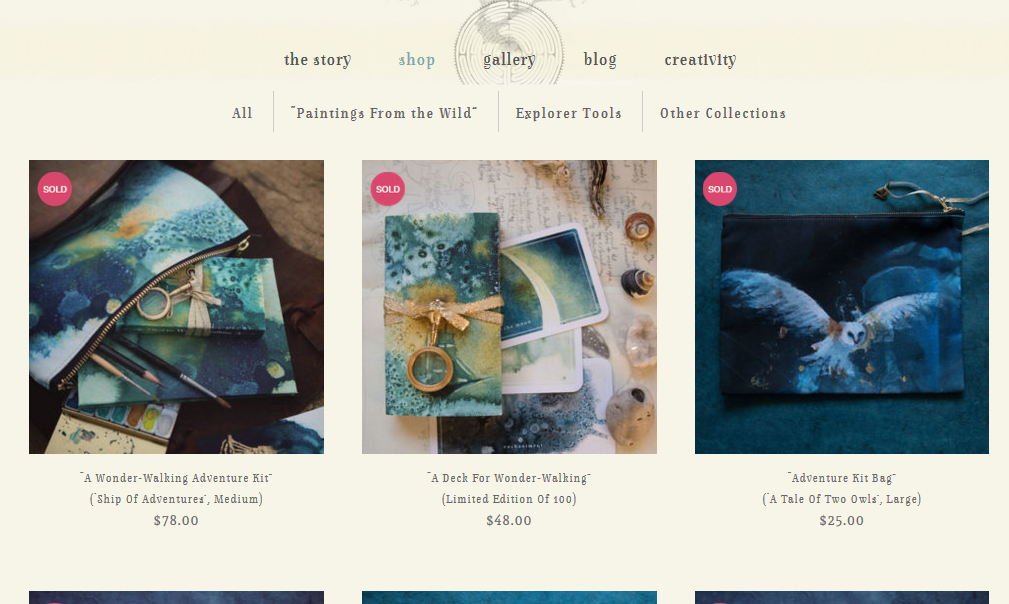 Amy Twon shop page