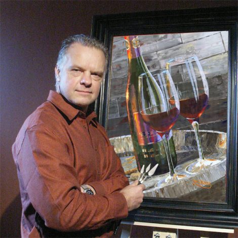 Member of the Week- Will Enns: Lifting Spirits with Paintings of Spirits