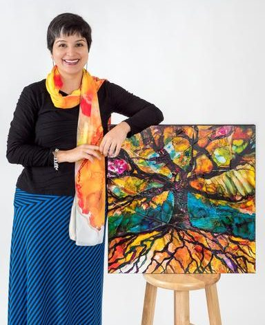 Member of the Week: Meena Matai, Meditative & Introspective Art