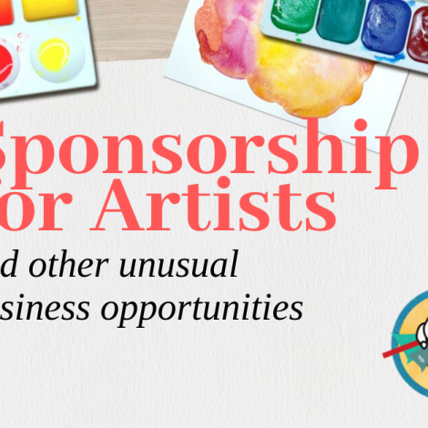 Sponsorships for Artists and Other Unusual Business Opportunities