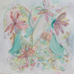Painting Gerber Daisies II